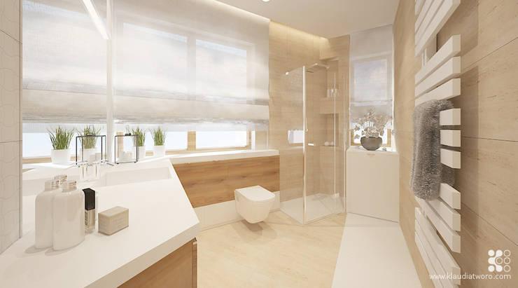 WILLA ALTOWA: styl , w kategorii Łazienka zaprojektowany przez Klaudia Tworo Projektowanie Wnętrz Sp. z o.o.