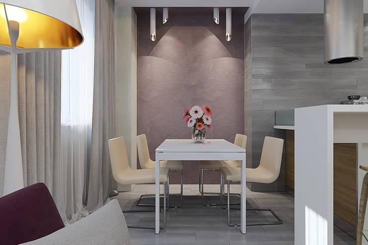Визуализации проекта Чехова_12: Столовые комнаты в . Автор – Alyona Musina