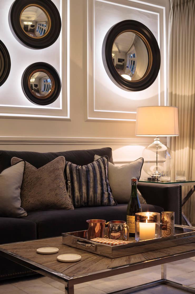 Salas de estilo  por WN Interiors