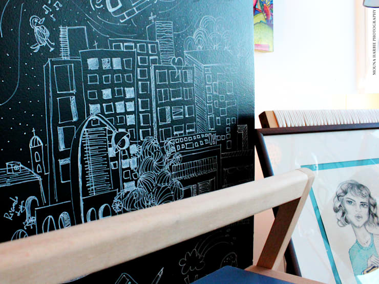 Oficinas y locales comerciales de estilo  por RL+N Arquitectura