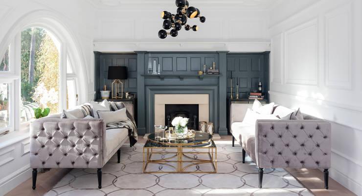Salas de estar modernas por WN Interiors of Poole in Dorset