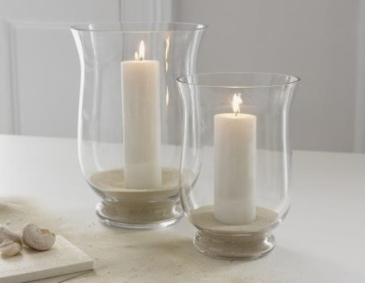 Traditional Hurricane Lamps For Pillar Candles Household By The London Candle Company
