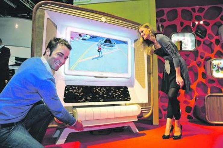 FOTOOYMA & ARMAN CONCEPT – RETRO, VİNTAGE RADİO TV ÜNİTESİ:  tarz İç Dekorasyon