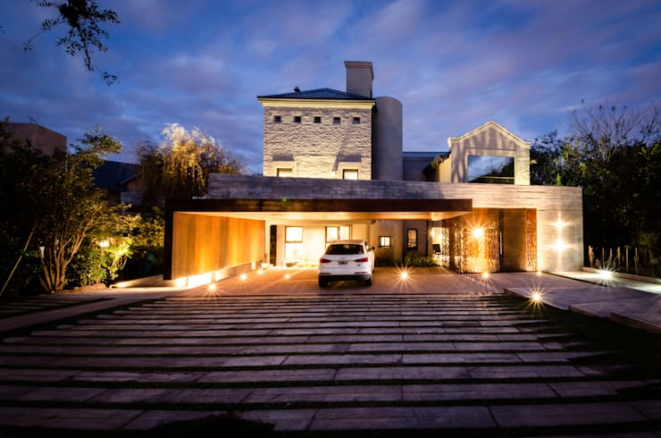 منازل تنفيذ BLOS Arquitectos