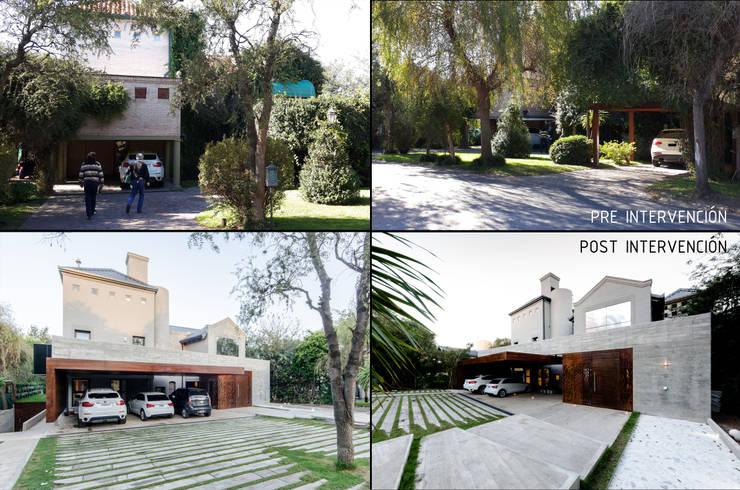 Casas de estilo  por BLOS Arquitectos
