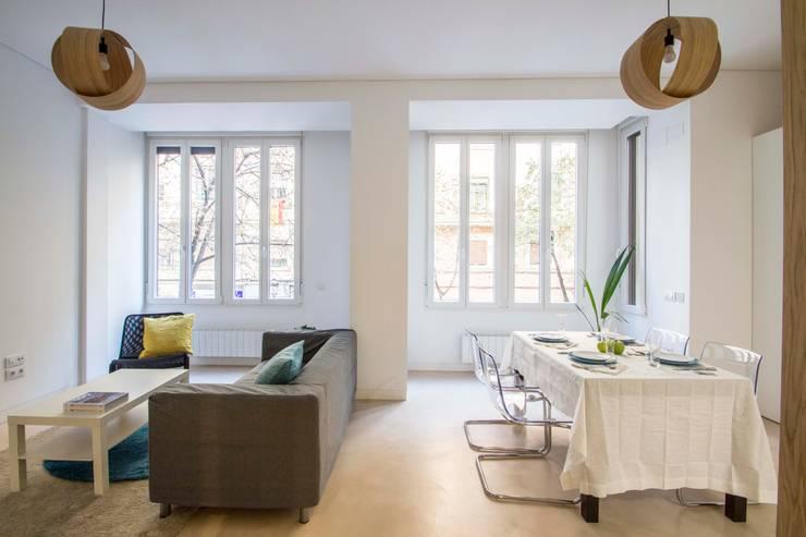 Livings de estilo  por DonateCaballero Arquitectos