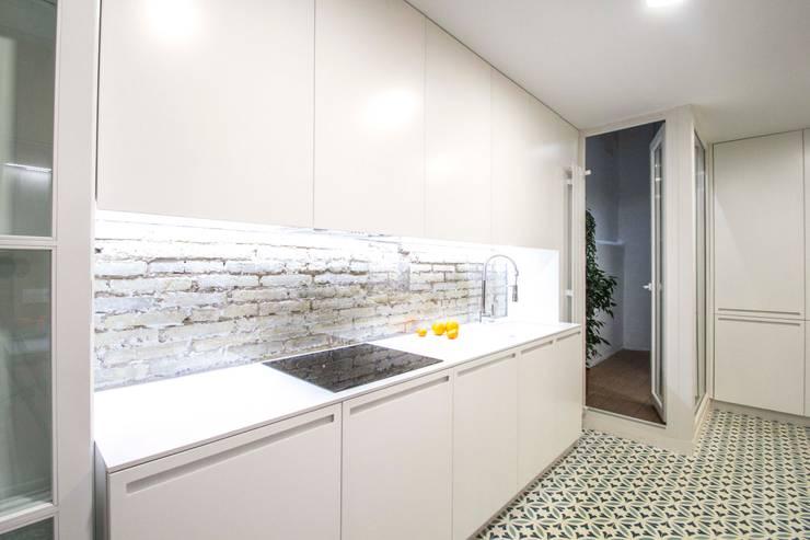 مطبخ تنفيذ DonateCaballero Arquitectos
