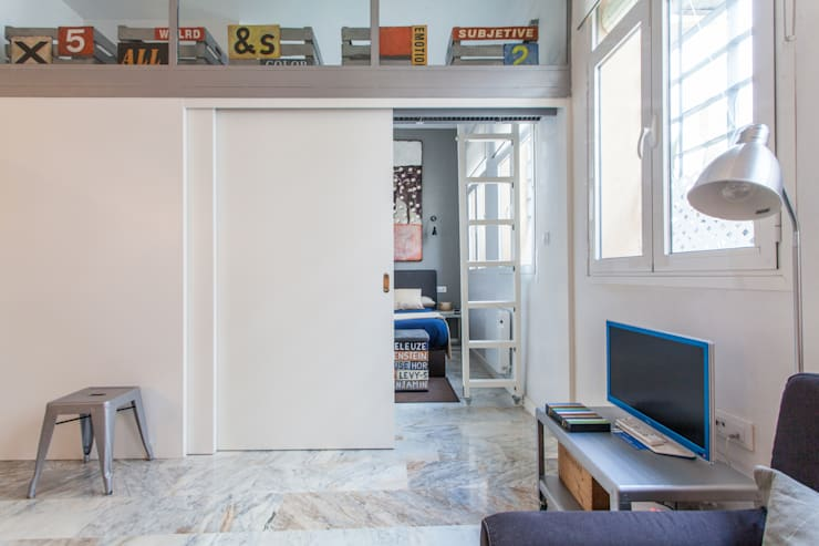 Apartamento Moderno en Sevilla: Dormitorios de estilo  de Pablo Cousinou