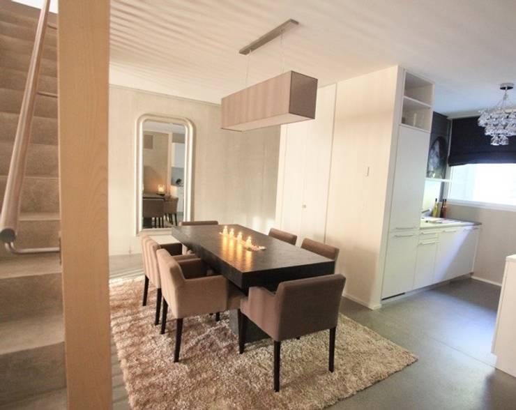 Appartement contemporain zen: Salle à manger de style de style Moderne par CSInterieur