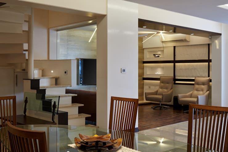 Apartment at Tirupur: modern Living room by Cubism
