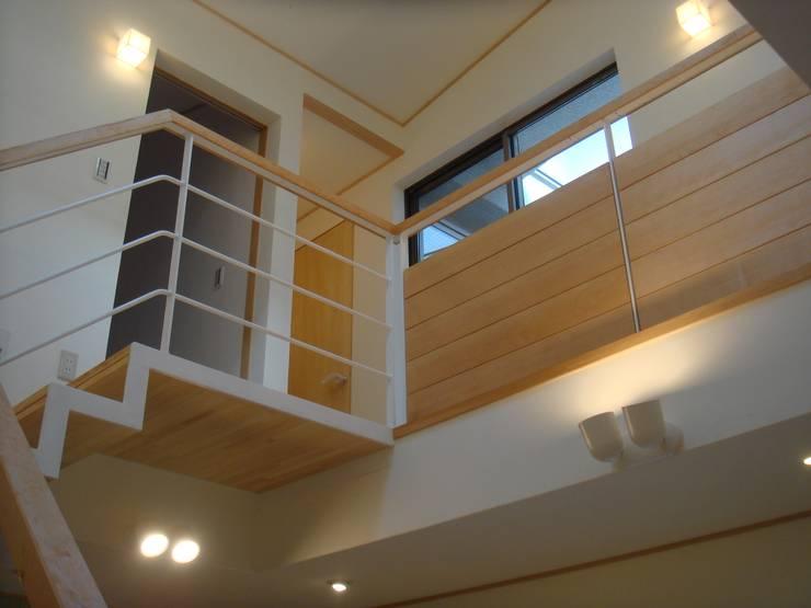 弁天の家: 株式会社 atelier waonが手掛けた廊下 & 玄関です。,