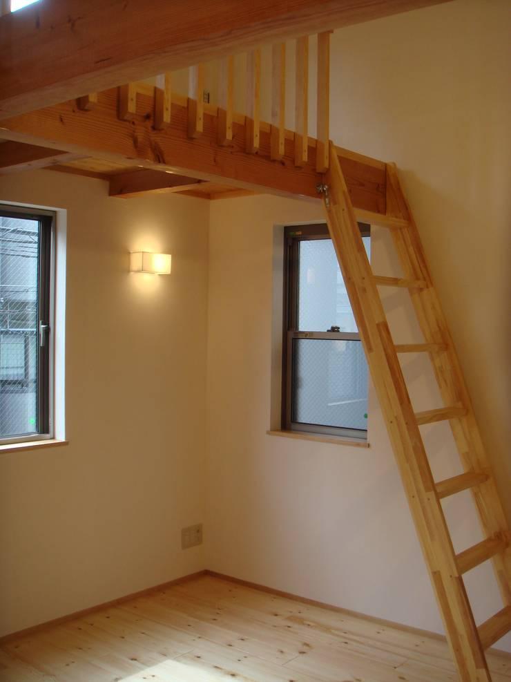 弁天の家: 株式会社 atelier waonが手掛けた子供部屋です。,