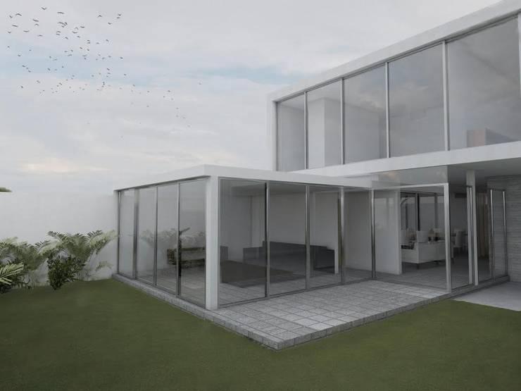 Casa Montes de Oca: Casas de estilo  por Alterno