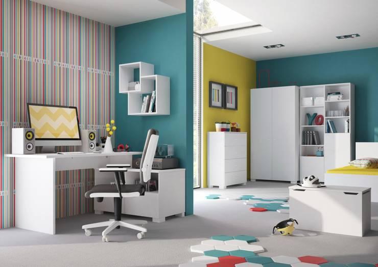 modern Bedroom تنفيذ Hampshire Furniture