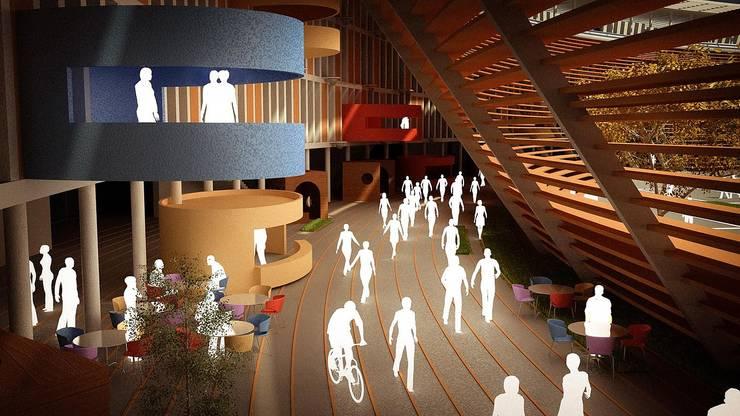 DOTY – MEB EĞİTİM KAMPÜSÜ: modern tarz , Modern