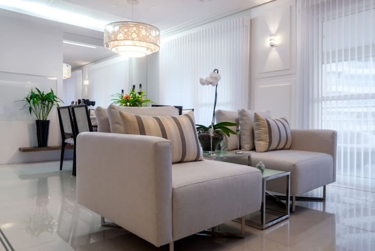 Sala 2: Salas de estar  por Nilda Merici Interior Design