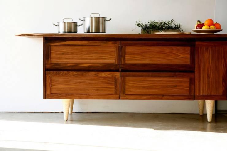 Moksori  Art N Wood Style: 목소리의  주방
