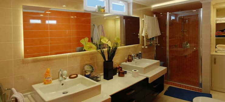 VRLWORKS – Leyla Alieva Evi Antalya: modern tarz Banyo