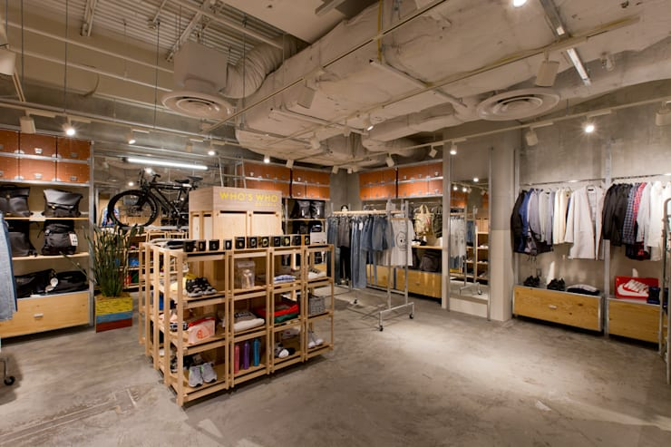 WHO'S WHO gallery ルミネ立川店: TOOP design worksが手掛けた和室です。