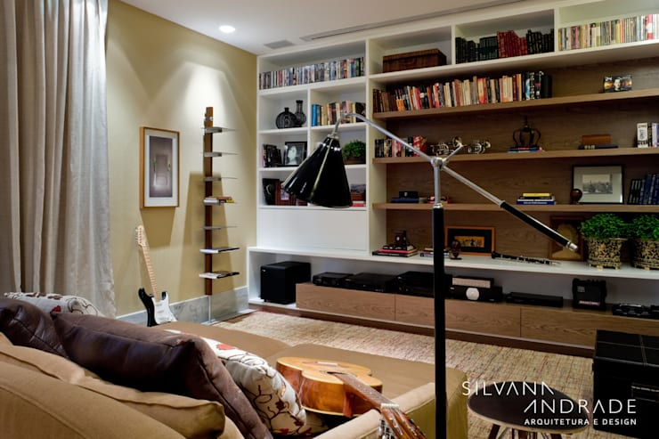 CASA DAS ARTES: Salas multimídia  por silvana albuquerque arquitetura e design