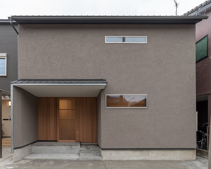 minimalistic Houses by 家山真建築研究室 Makoto Ieyama Architect Office
