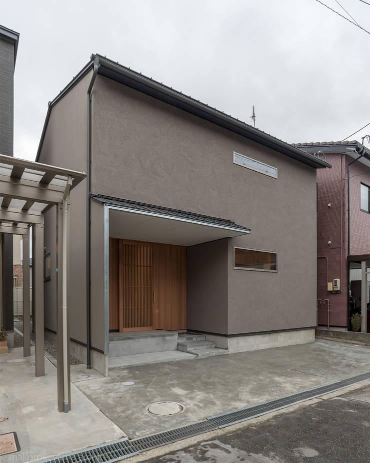 Дома в . Автор – 家山真建築研究室 Makoto Ieyama Architect Office, Минимализм