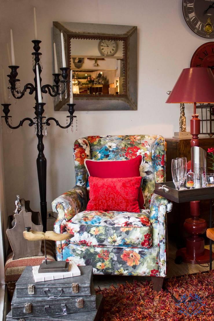 La esquina de la casa: Hogar de estilo  por DEARBOLEDA