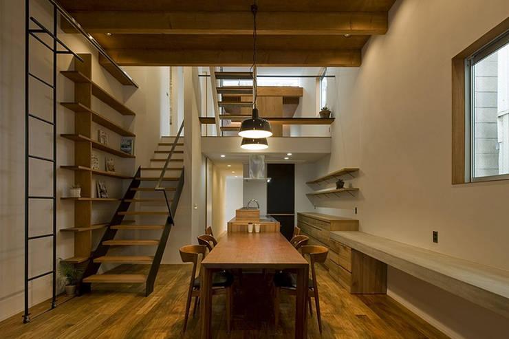 Kitchen by 浦瀬建築設計事務所