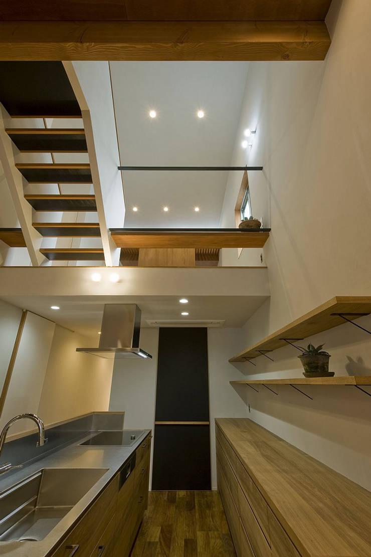 北方の家: 浦瀬建築設計事務所が手掛けたキッチンです。,オリジナル