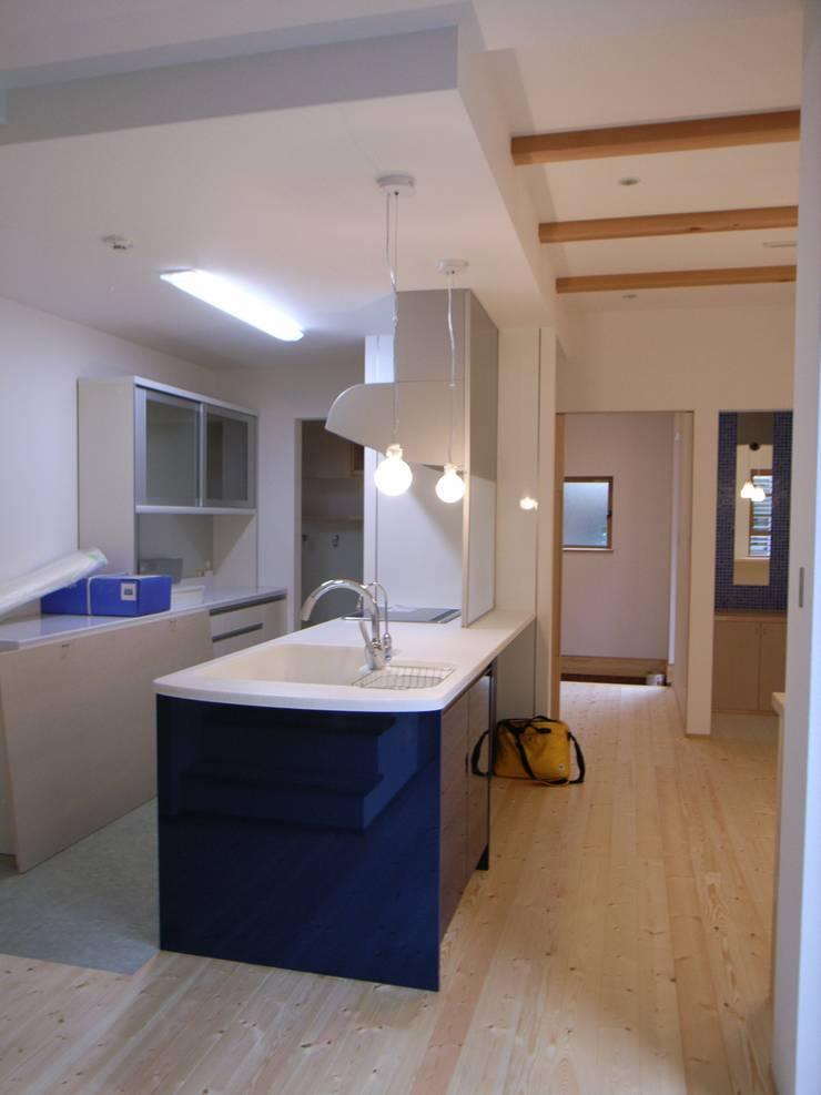 平野の家: 株式会社 atelier waonが手掛けたキッチンです。,