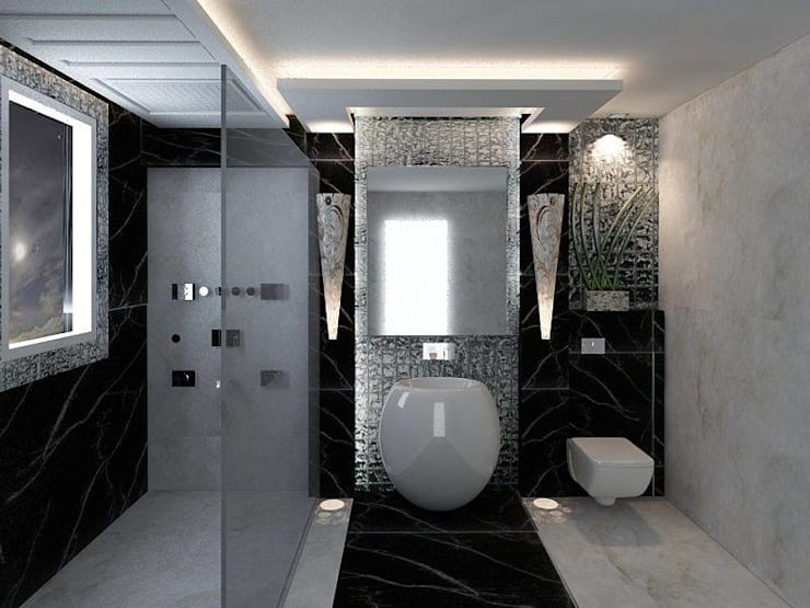 Bathroom تنفيذ Alaya D'decor