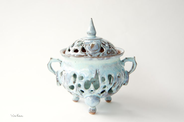 香炉: 庚申窯-Koshin-kiln-が手掛けたアートです。,