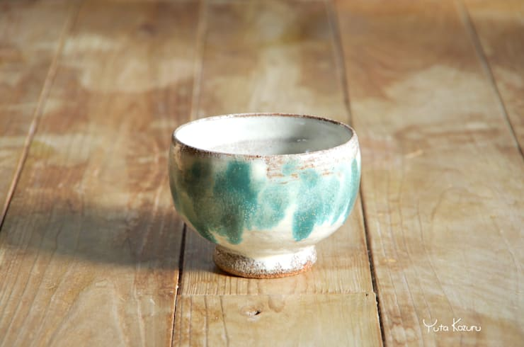 抹茶碗: 庚申窯-Koshin-kiln-が手掛けた折衷的なです。,オリジナル 陶器