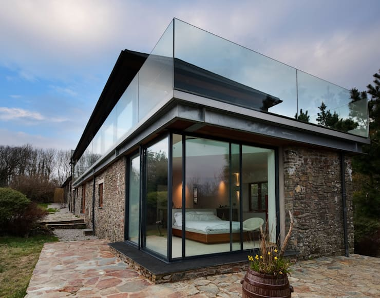 Down Barton, Devon: modern Houses by Trewin Design Architects