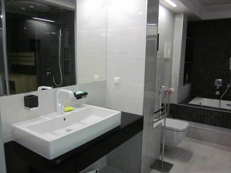 """""""контемпорари"""" в интерьере  : Ванные комнаты в . Автор – ann-ulya"""