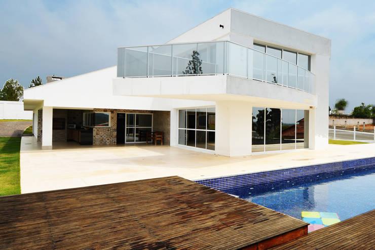 Casa CA: Piscinas  por Arquitetura 1