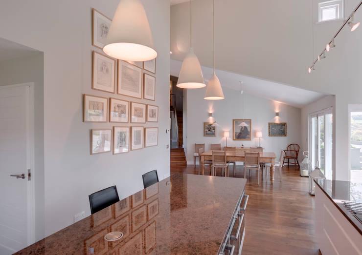 Projekty,  Jadalnia zaprojektowane przez Trewin Design Architects