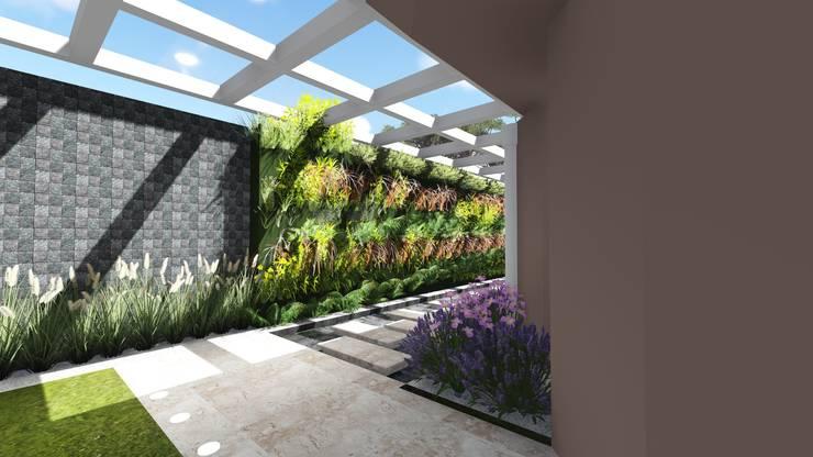 Entrada lateral: Jardins  por Studio²