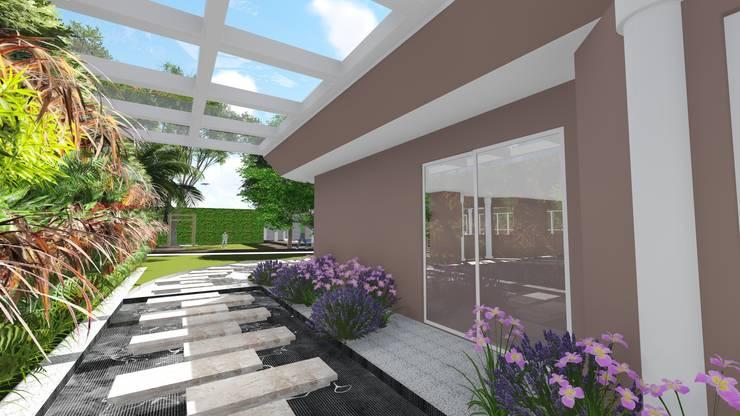 Caminho lateral: Jardins  por Studio²
