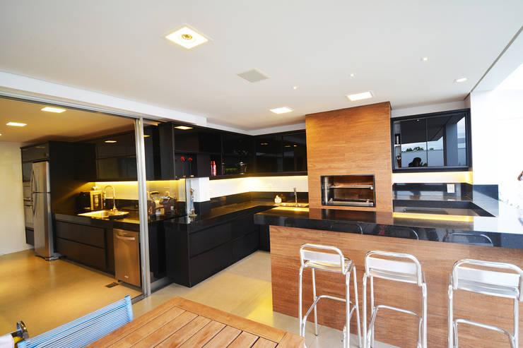 Casa AE: Terraços  por Arquitetura 1