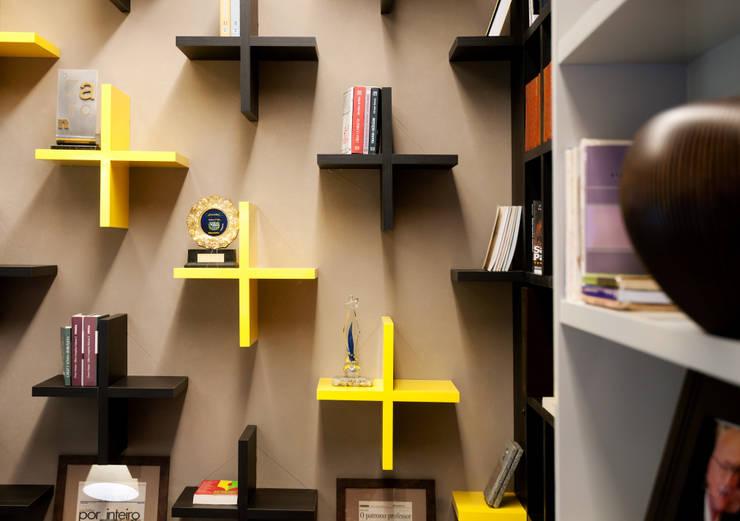 Espaços comerciais  por Tatiana Junkes Arquitetura e Luminotécnica