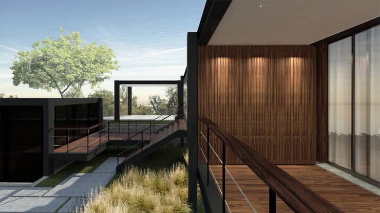 Casa ZED: Casas  por BORA Arquitetos Associados