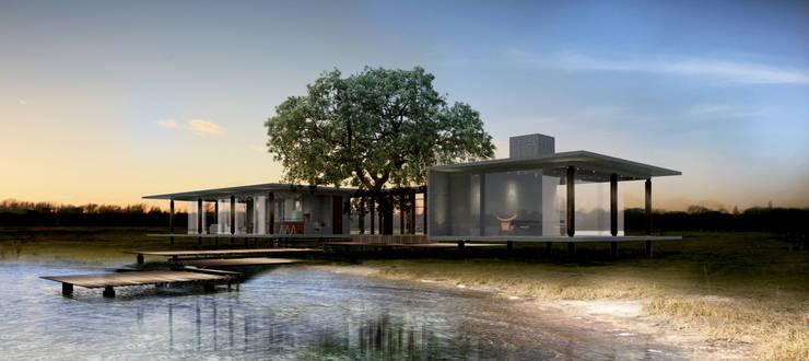 Casa RR: Casas  por BORA Arquitetos Associados