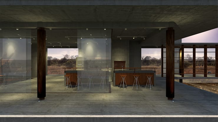 Casa RR: Cozinhas  por BORA Arquitetos Associados