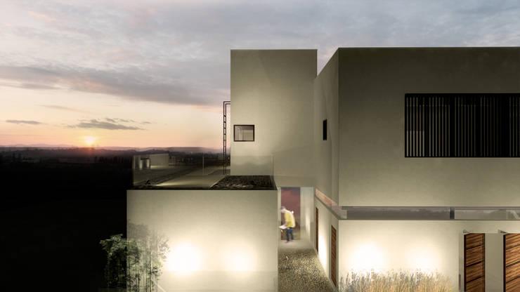 Casa M13: Casas  por BORA Arquitetos Associados