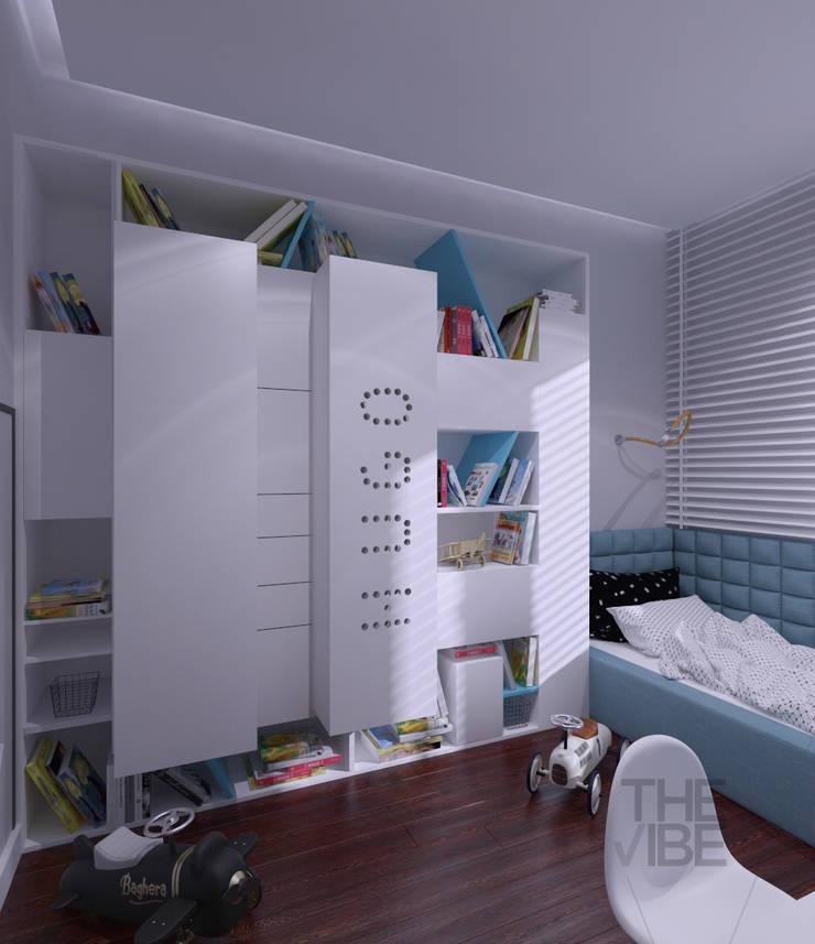 POKÓJ DLA CHŁOPCA: styl , w kategorii Pokój dziecięcy zaprojektowany przez The Vibe