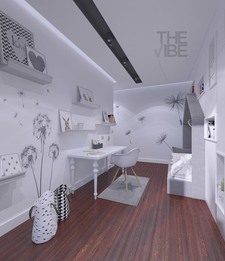 Nursery/kid's room by The Vibe