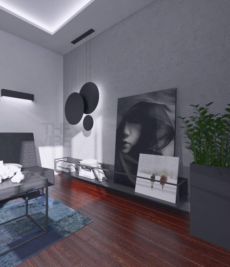 GABINET: styl , w kategorii Salon zaprojektowany przez The Vibe,