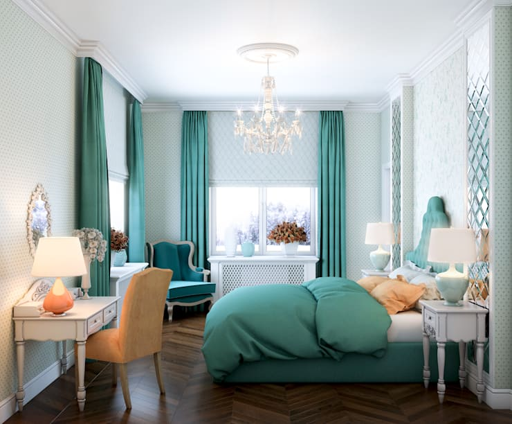 classic Bedroom by Marina Sarkisyan