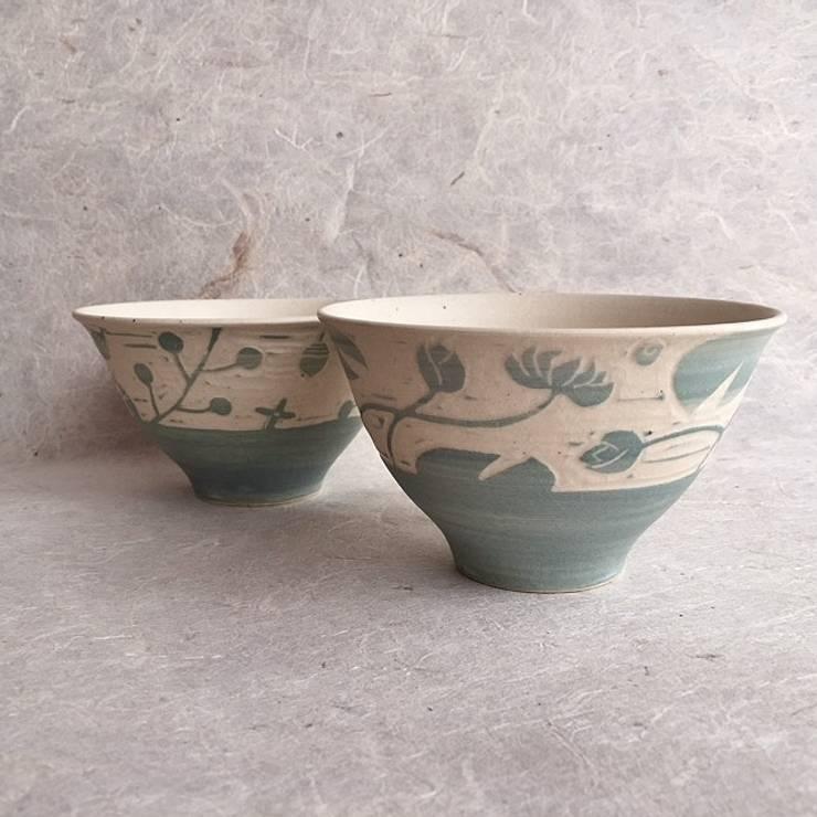 めし碗: claytudio tenohiraが手掛けたキッチンです。